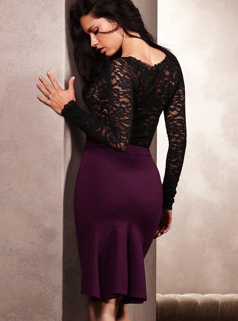Moda E Amor Adriana Lima Looking Sexy In Latest Victoria