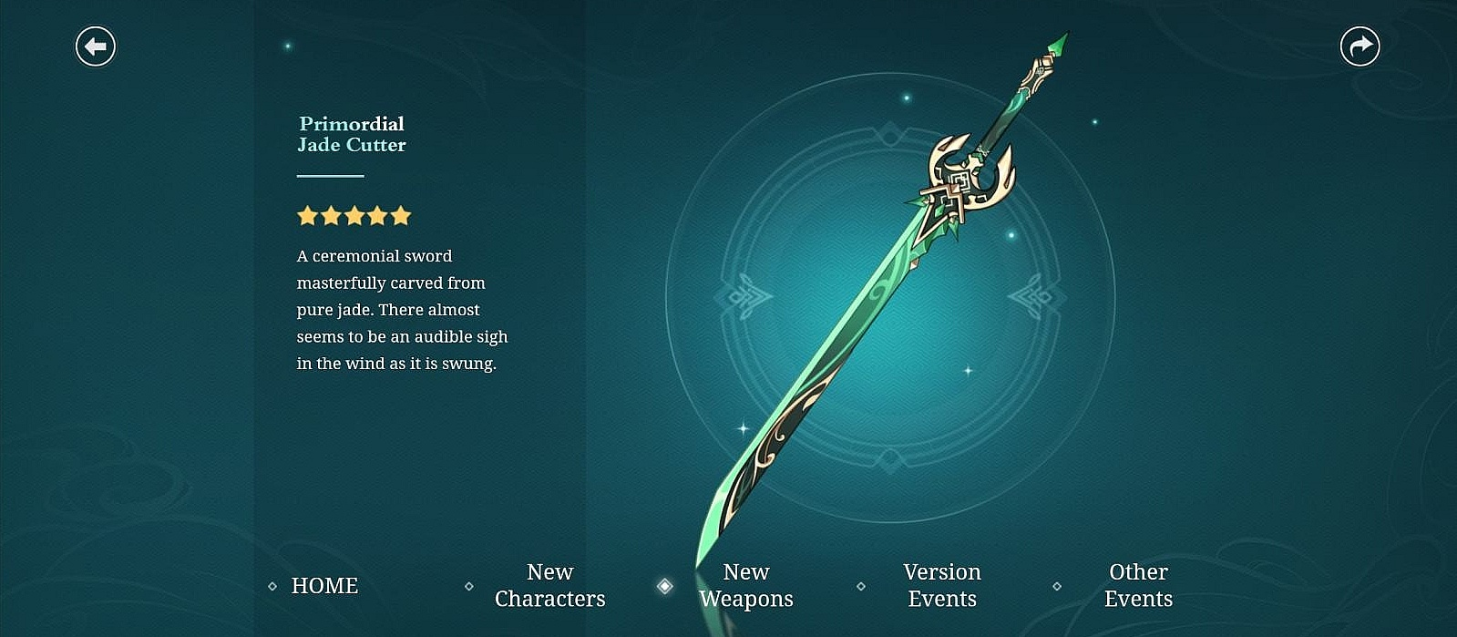 """Where to find and how to get a new sword """"precious pool"""" in Genshin Impact"""