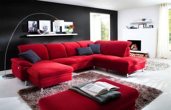 meine quilts und ich von der schwierigkeit ein rotes sofa zu finden. Black Bedroom Furniture Sets. Home Design Ideas