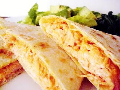 Receta de Tortillas con Pollo y Queso