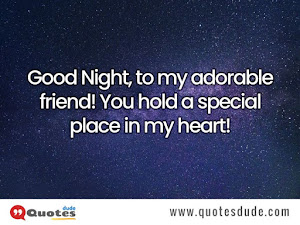 Good Night Images With Quotes and Message For Friends