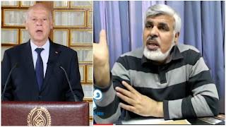 سيد الفرجاني نحن أمام رئيس جمهورية خطير على الدولة والدستور  و شعب تونسي