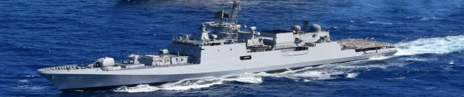 Indian Navy's Ship INS Airavat Delivers Covid Relief Material To Thailand