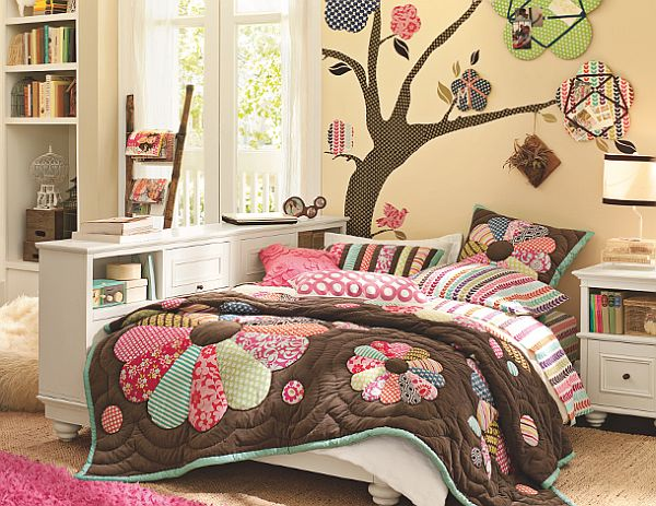 Bedding for teen girls teenage girls rooms inspiration - Cool stuff for girls rooms ...