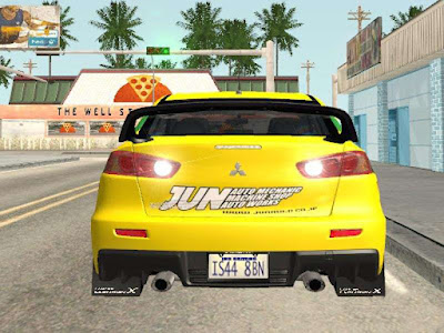 GTA San Andreas Include The Transfer Of Reverse Mod