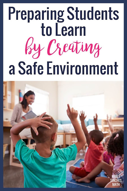 These ideas and tips for creating a safe classroom environment will help your classroom management and students will be ready and able to learn.