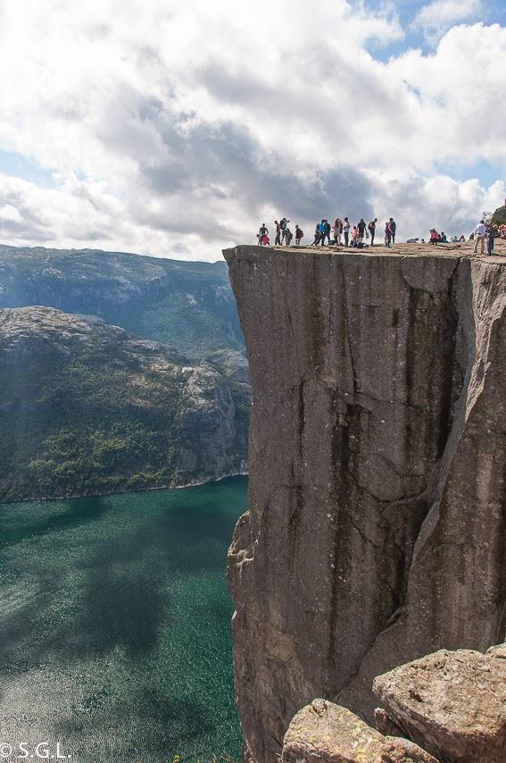 Preikestolen en Noruega