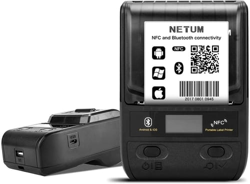 Review NETUM NT-G5 Portable Bluetooth Label Maker