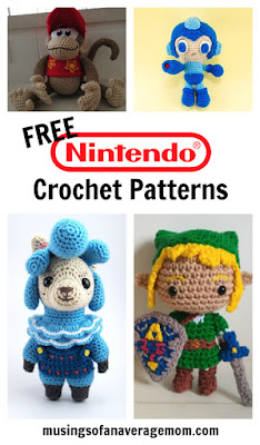 nintendo crochet patterns