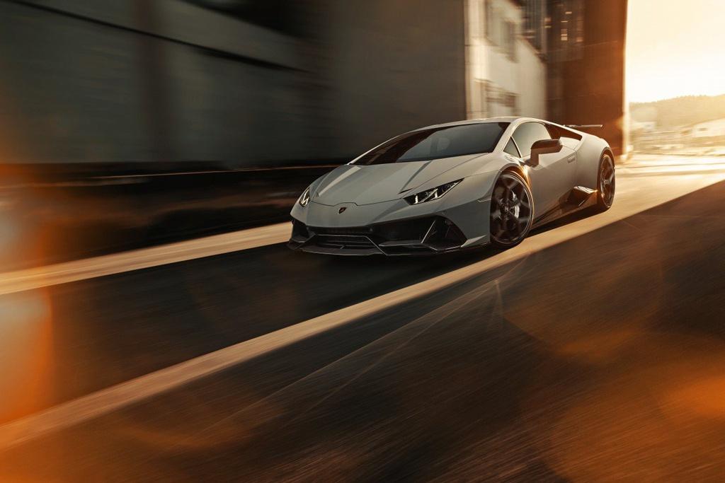 Lamborghini Huracan EVO lột xác với gói độ đến từ Novitec