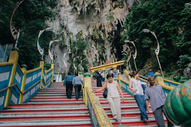 Batu Caves and it's 272 steps