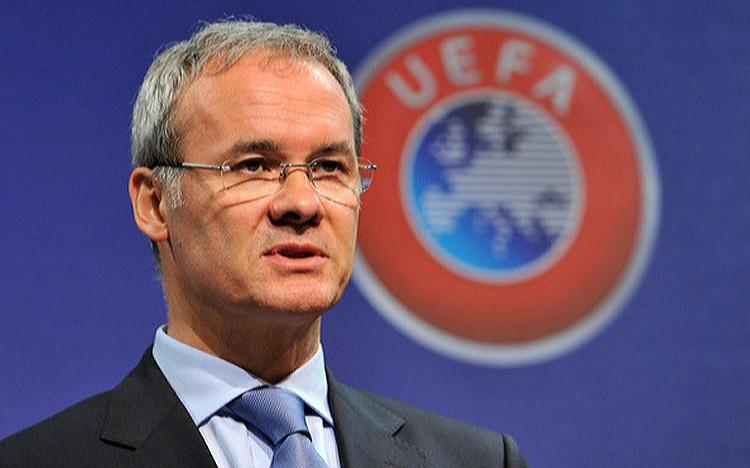 UEFA's deputy general secretary Giorgio Marchetti.