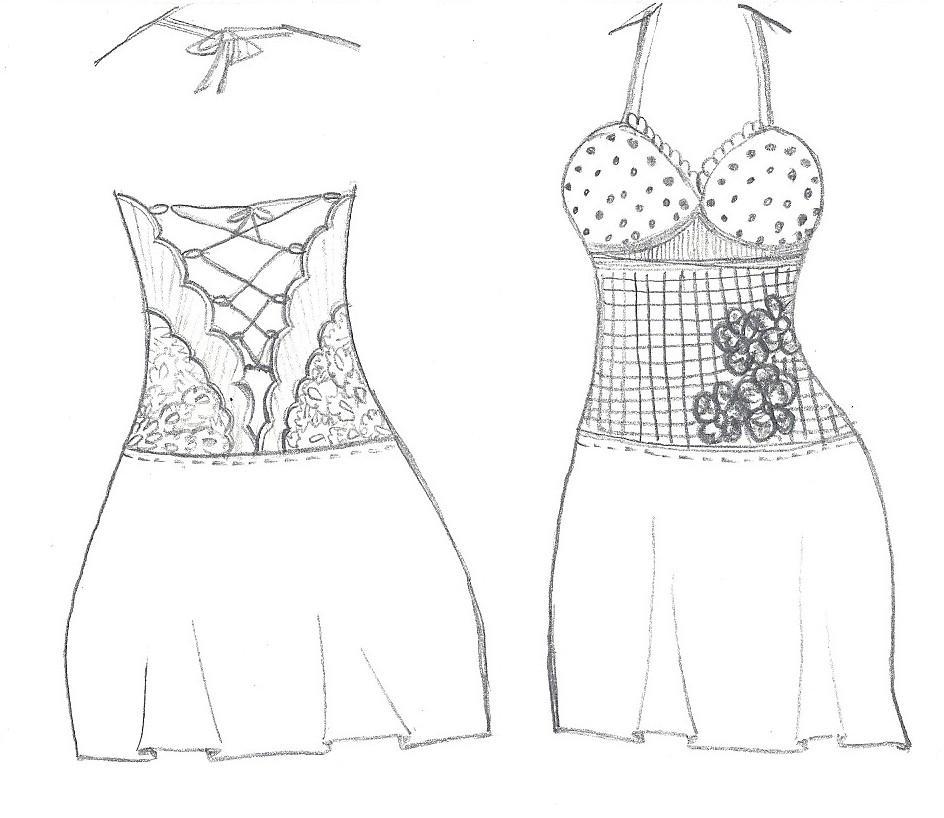 ~PAPER DOLL EVE: A GIRL DREAMS~: Beautiful Dress Design.