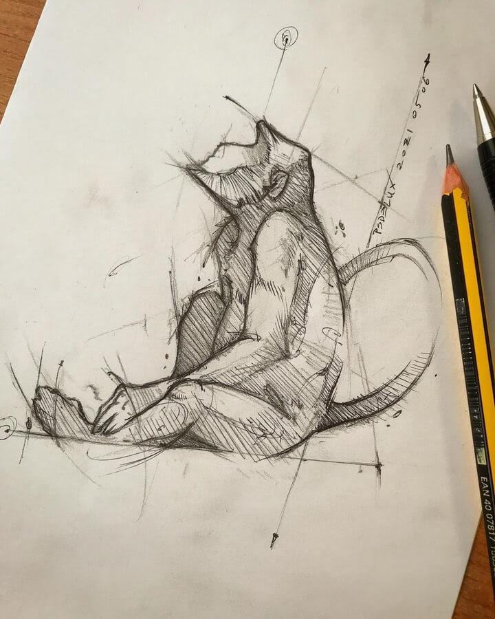 05-Daydreaming-Monkey-Psdelux-www-designstack-co