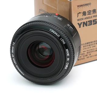 Jual Lensa Yongnuo 35mm f2 for Canon