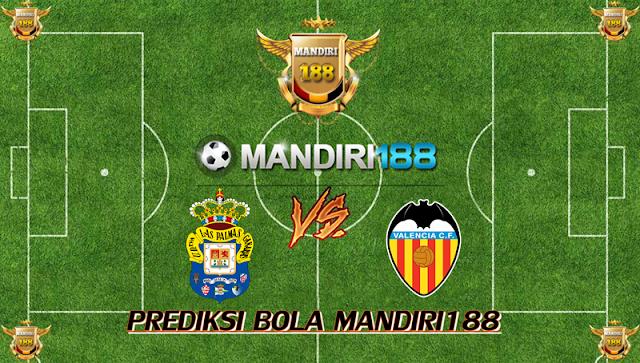 AGEN BOLA - Prediksi Las Palmas vs Valencia 4 Januari 2018