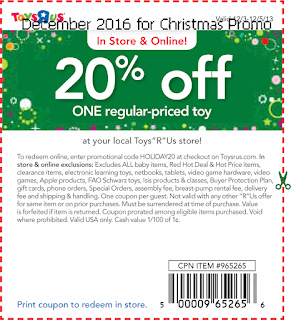 free Babies R Us coupons for december 2016