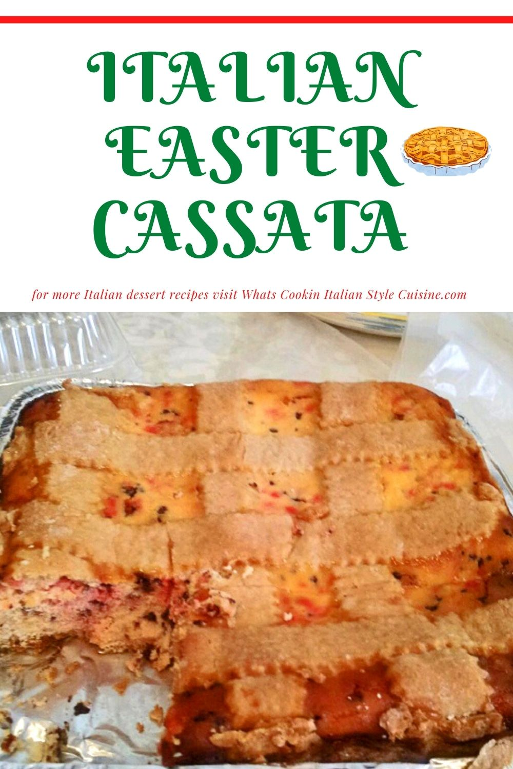 this is a pin for later on how to make Cassata