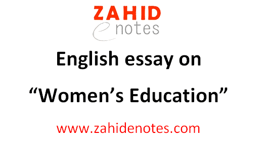 Education for Women in Pakistan English 2nd year