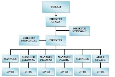 Struktur Organisasi cara Membuat serta Contohnya