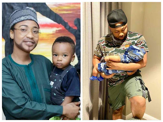 """""""Happy Father's Day To All The Mother's Playing The Role Of A Father, May God Give You Peace of Mind"""" - Olakunle Churchill Shades Tonto Dikeh"""