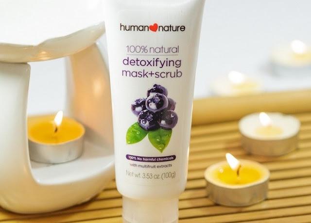 human nature detoxifying mask scrub