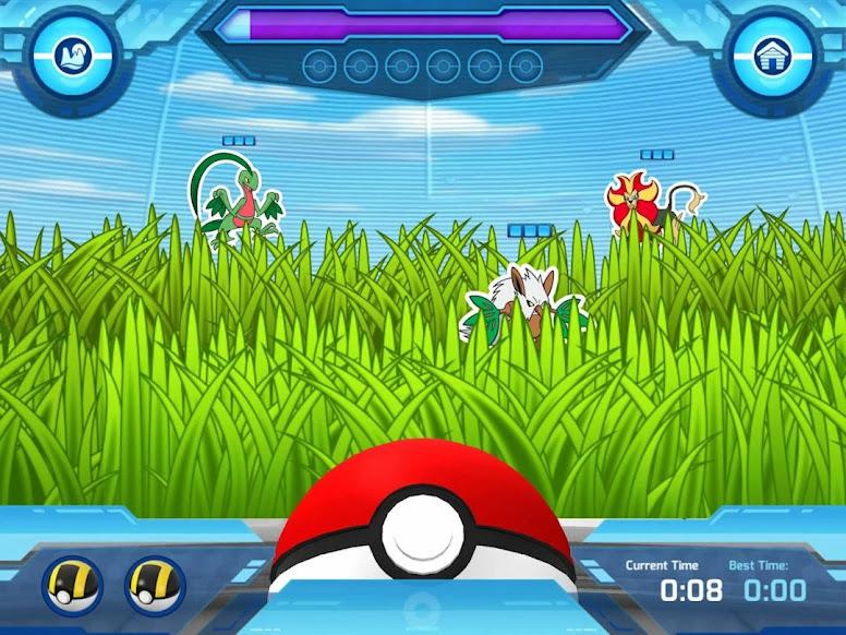 Camp Pokémon - Poké Ball Throw