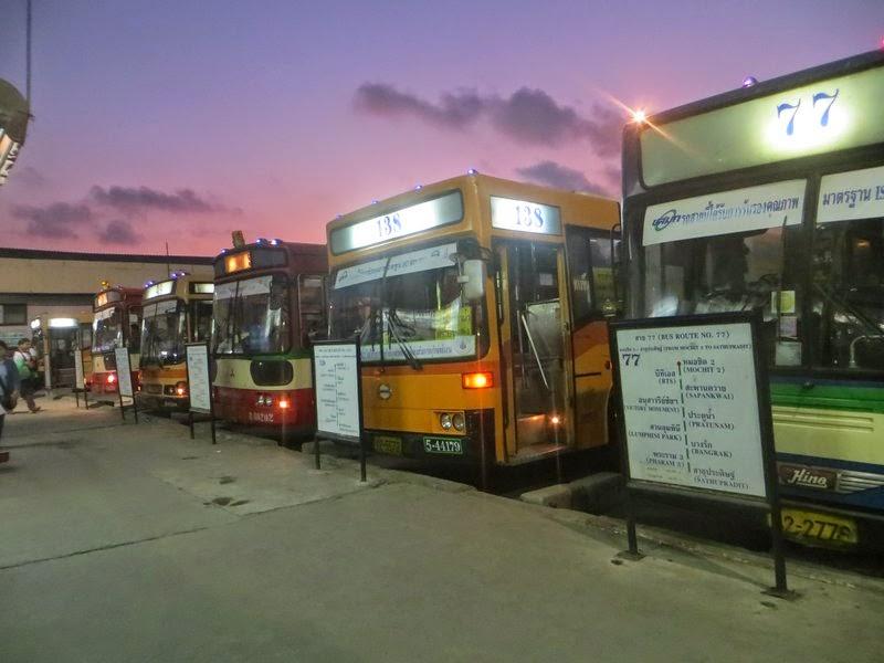 Автобусы Бангкок