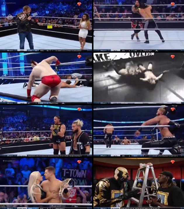 WWE Thursday Night Smackdown 07 July 2016 HDTV 480p