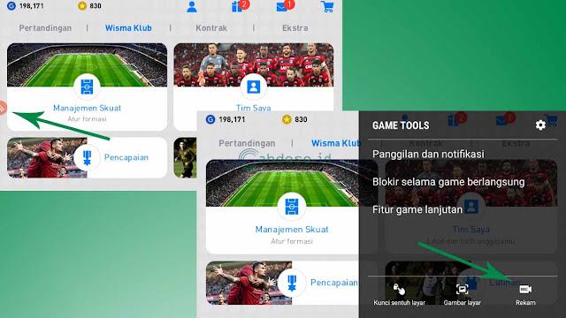 Gambar 2 Cara Merekam Layar HP Samsung Tanpa Aplikasi