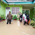 Sungai Batang Suliti Meluap, Madrasah MTsN 1 Solok Selatan Kebanjiran