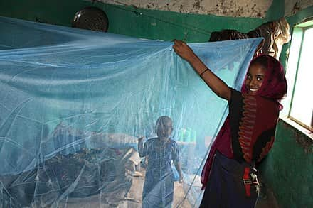 New Nets Protect Children From Malaria