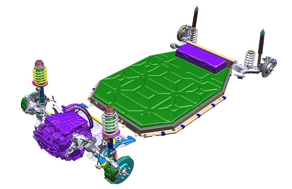 Hệ thống truyền lực điện giúp ô tô cải thiện hiệu suất sử dụng năng lượng