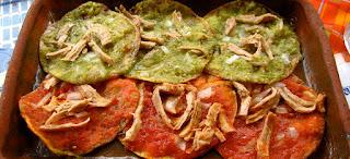 receta de chalupas mexicanas