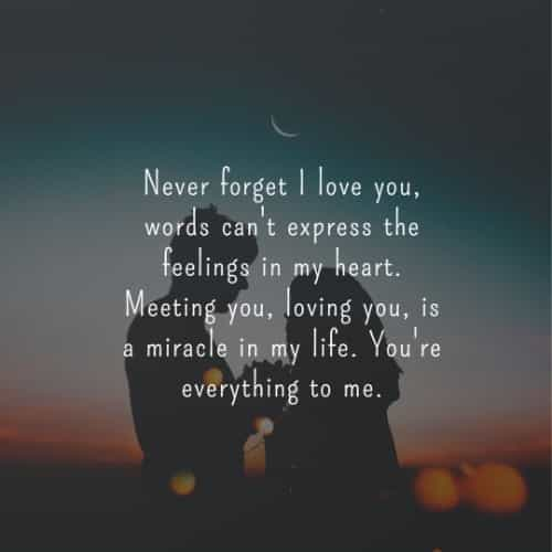 Valentine's day quotes and romantic love messages
