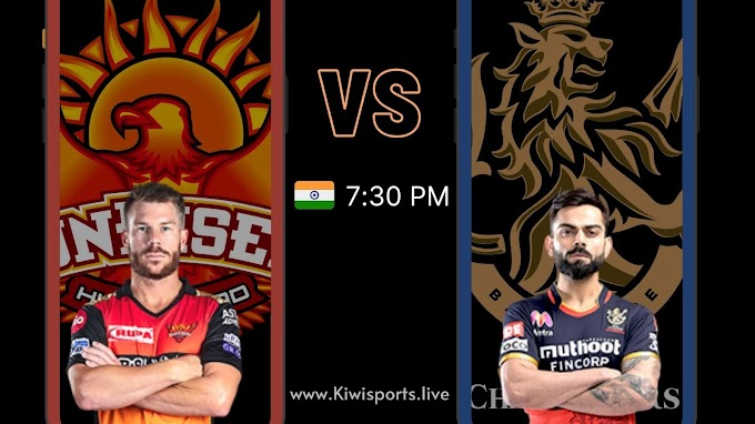 SunRisers Hyderabad vs Royal Challengers Bangalore: Schedule & Live Stream | IPL