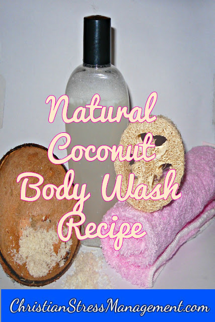Natural coconut body wash recipe
