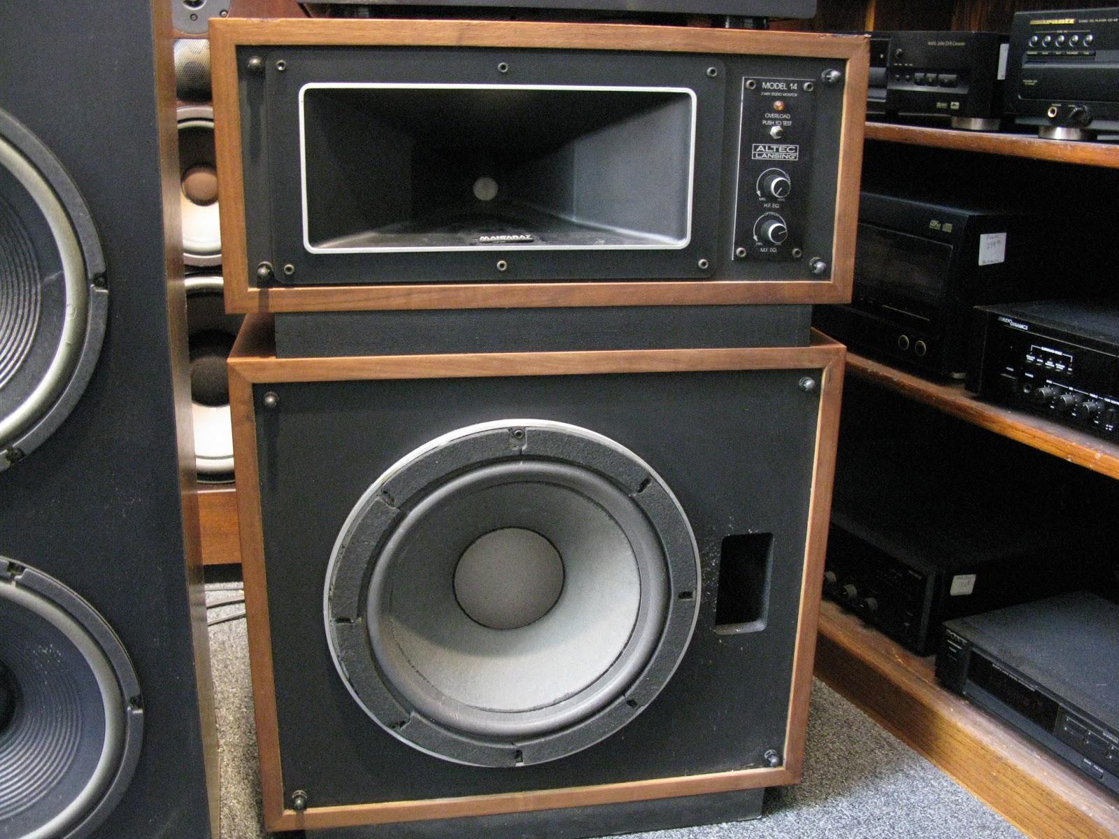 Recycled Stereo Plus: Altec Lansing Model 14 Speakers $895