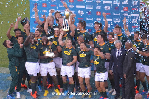 Sudáfrica se consagró campeón del Rugby Championship en Salta