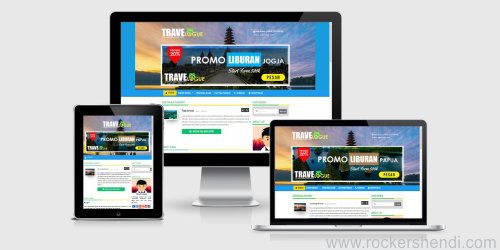 OkeTravel V.2 Template Blogger Responsive