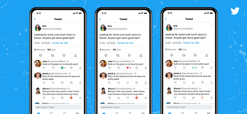 Twitter for iOS begins testing upvote and downvote buttons on tweets