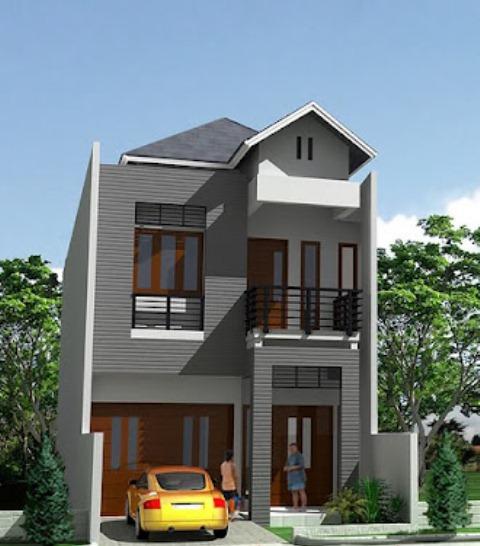 Gambar Sketsa Desain Rumah Minimalis Tipe 45 Terbaru 2014 ...