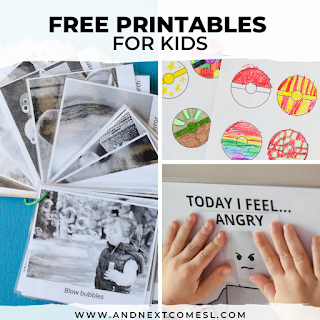 Free printables for kids