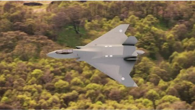 Inggris Rilis Gambar Terbaru Pesawat Tempur Tempest Generasi ke-6