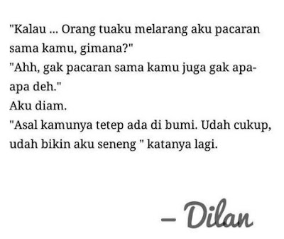 kata kata Dilan