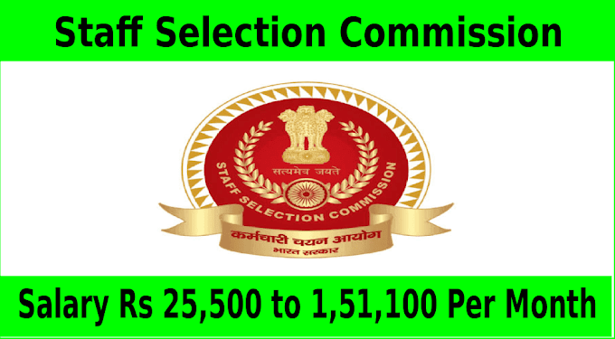 Staff Selection Commission Combined Graduate Level Exam Notification