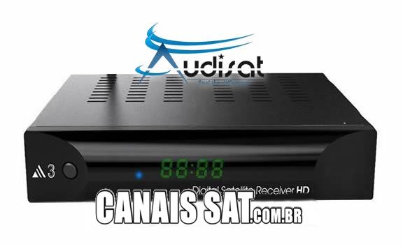 Audisat A3 Nova Atualização V1.4.07 - 28/02/2020
