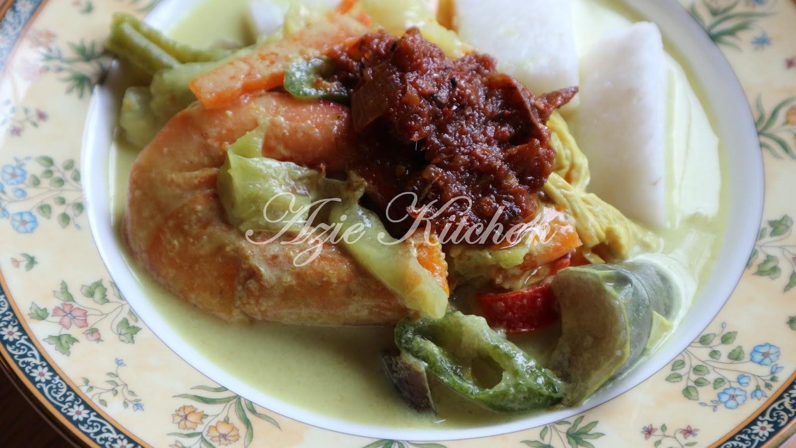 Lontong Dan Kuah Lodeh Azie Kitchen Yang Paling Sedap Azie