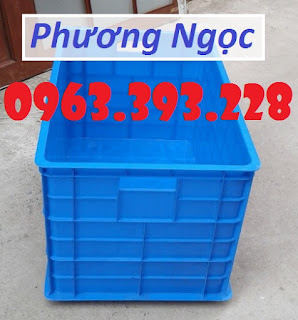 Thùng nhựa 5 bánh xe, thùng nhựa đẩy hàng, thùng nhựa công nghiệp Qeq1499939749