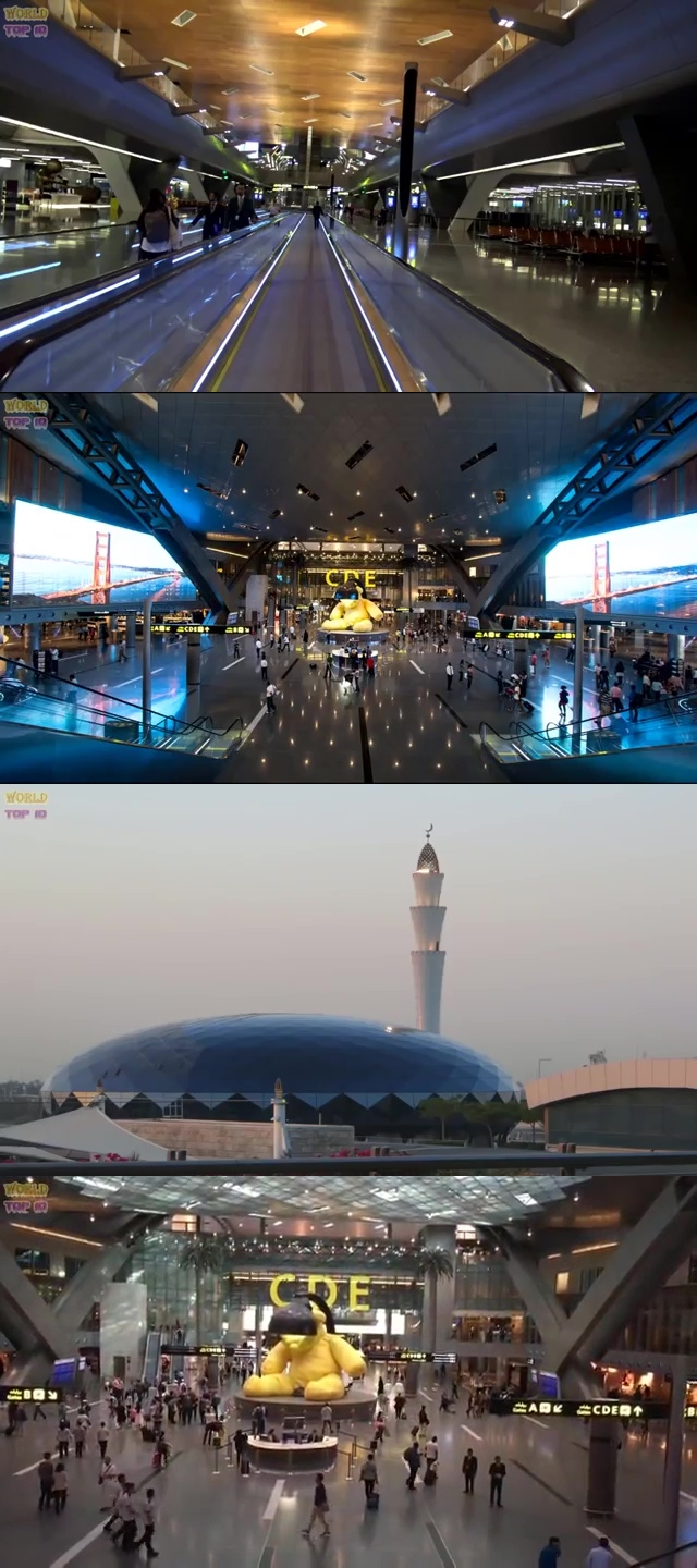 top airports in the world, top ten best airport, best airport in the world, top ten best airport in the world, Doha Hamad Airport